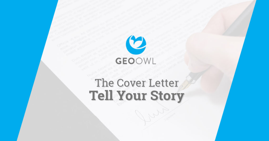 Cover Letter | Geo Owl | Geo Careers