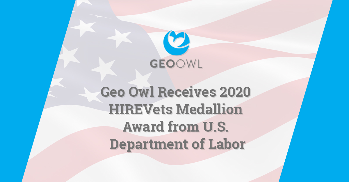 Geo Owl Wins HIREVets